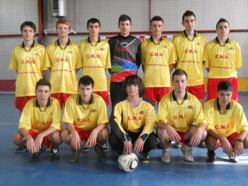 Echipa de fotbal liceu a CNU - 2011